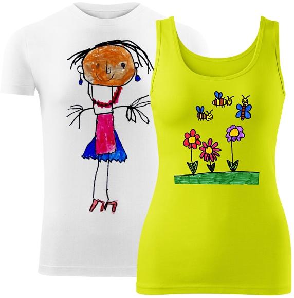 #kleineDesigner - namalujte si vlastní tričko