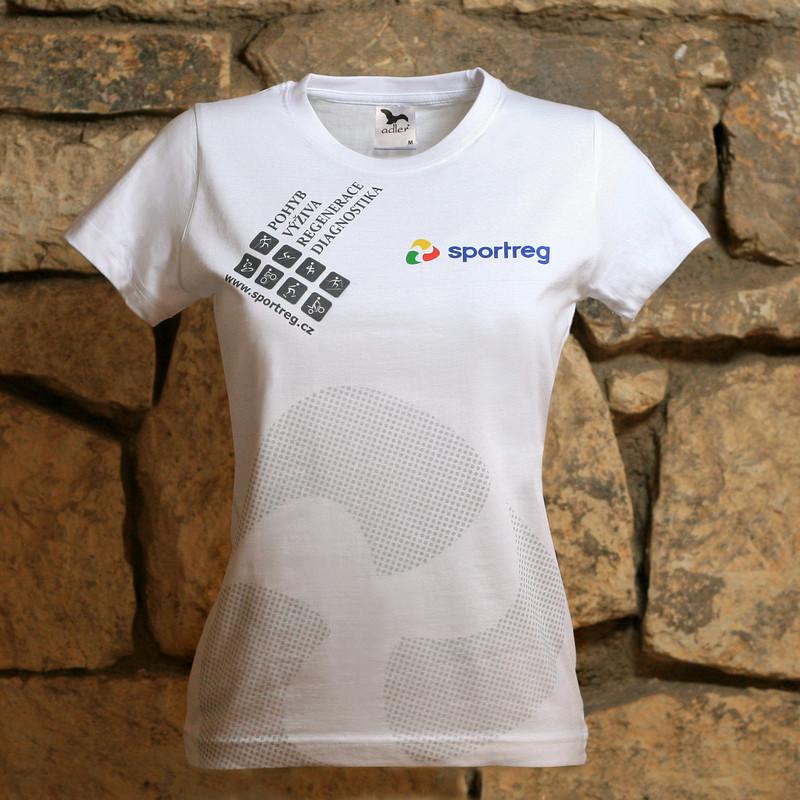 Přímý potisk textilu - firemní triko