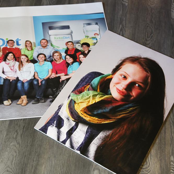 Tisk velkoformátových fotografií