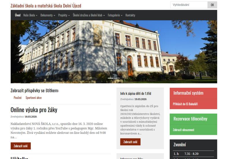 Základní škola a mateřská škola Dolní Újezd