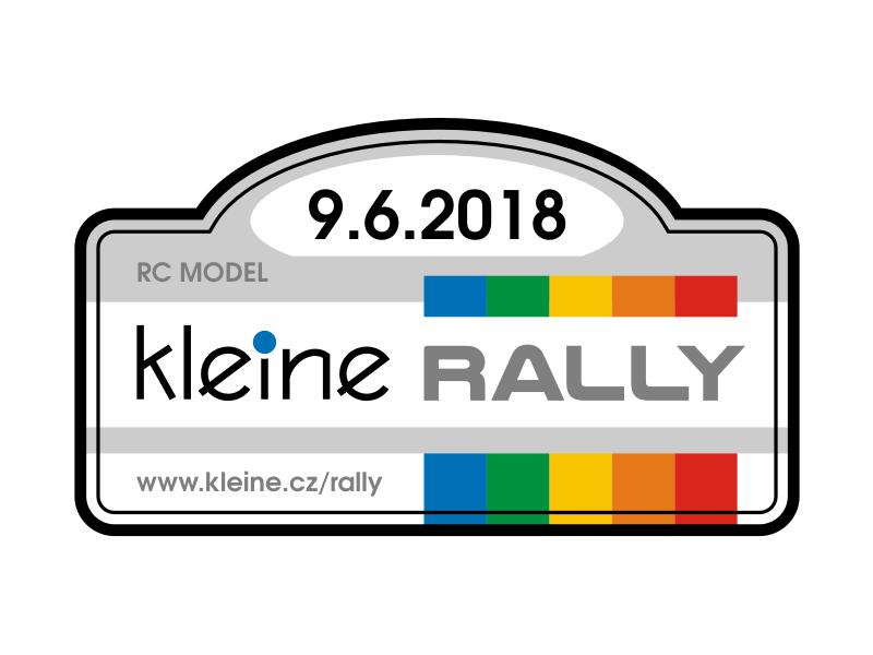 Kleine RALLY 2018 Label